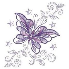 Decorative Butterfly Embroidery Designs, Machine Embroidery Designs at EmbroideryDesigns. You are in the right place about french knot embroidery Here we offer you the most beautiful pictures about French Knot Embroidery, Crewel Embroidery Kits, Butterfly Embroidery, Learn Embroidery, Machine Embroidery Patterns, Embroidery Tattoo, Embroidery Supplies, Embroidery Jewelry, Embroidery Ideas
