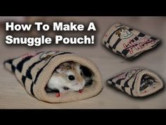Cute Ideas: #1 The Snuggle Pouch! - YouTube