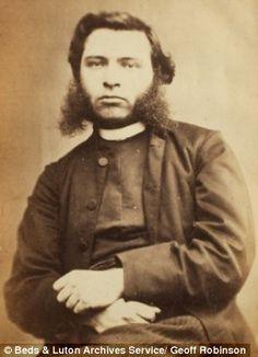 Old British mugshot taken between 1859 and 1876.