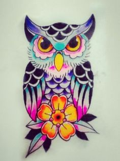 Owl tattoo...