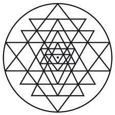 Sree yantra = lord siva