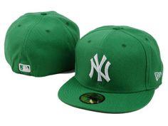 Casquette Ny New York Pas Cher Yankees Vert Blanc Logo   Casquette Pas Cher 0df031fc1a8
