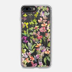 Mixed Orchids-Clear - Classic Grip Case