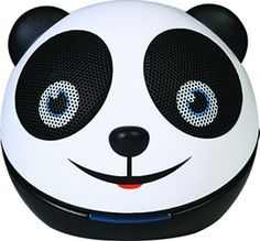 Zoo-Tunes Portable Mini Character Speakers for MP3 Players, Tablets, Laptops etc.(Panda Bear)