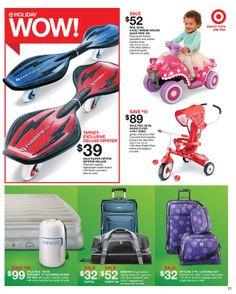 Target - Sale starts November 17, 2013 - November 23, 2013 November 23, Luggage Sets, Quad, Target, Color, Colour, Target Audience, Quad Bike, Colors
