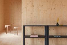 Atelier Ordinaire's house in Beaune is made almost entirely from wood