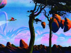 roger dean art | Dragon's Dream by Roger Dean | Art that speaks to me