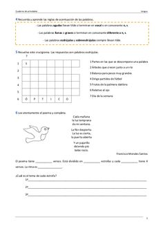 Ejercicios lengua 6º primaria Bullet Journal, Messages, School, Spanish, Textbook, Spanish Language, Text Posts, Spain