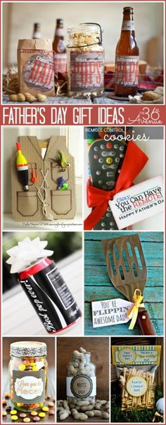 Love all of these Father's Day Gifts Ideas