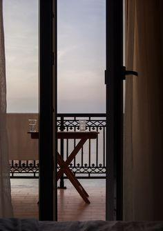 Ocean view from Cressida Seaside Aparments in Corfu.