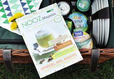 Auch für Lesestoff war wieder gesorgt. Und auf einer Picknickdecke macht es gleich doppelt so viel Spaß, durch die Mai Ausgabe des NOOZ Magazins zu blättern!