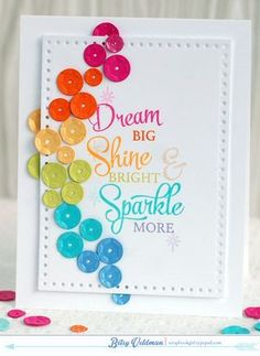 Dream Big - Rainbow Sequins
