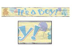 BANNIERE 12' 'IT'S A BOY'