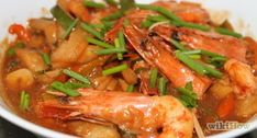 How to Make Lemon Butter Shrimp With Dried Italian Seasoning (Baked in Oven). If you have ever been bored with boiled shrimp and cocktail sauce, you'll want to try this easy and delicious recipe. Fish Dishes, Main Dishes, Sweet And Sour Prawns, Lemon Butter Shrimp, Breaded Shrimp, Rice Vinegar, Italian Seasoning, Shrimp Recipes, Appetizers