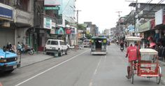 Town center in Maasin Street View, Places, Lugares