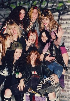 L7 & Lunachicks. What a party!!