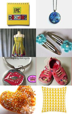Summer Sunshine by Nicky Payne on Etsy--Pinned with TreasuryPin.com #promotingwomen