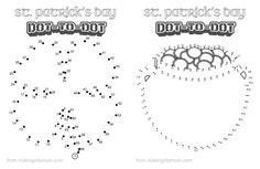St. Patrick's Day Dot to dot