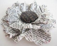 Bloem maken van papier