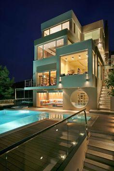 Modern villa, Greece