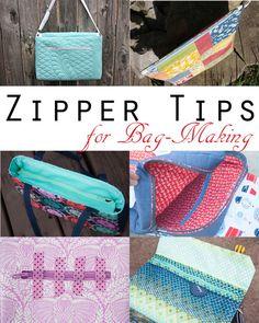 Sew Sweetness: Zipper Tips for Bag-Making