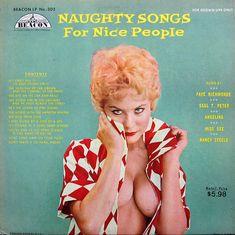 Naughty Songs For Nice People-Beacon 302 Worst Album Covers, Cool Album Covers, Music Album Covers, Music Albums, Cover Art, Lp Cover, Vinyl Cover, Vinyl Cd, Vinyl Music