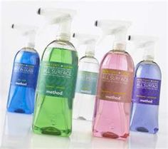 Method Cleaning Products - I especially love the bathroom cleaner!