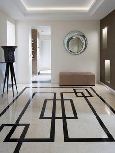 appartement graphique - code art déco classique parisien / Stéphanie Coutas