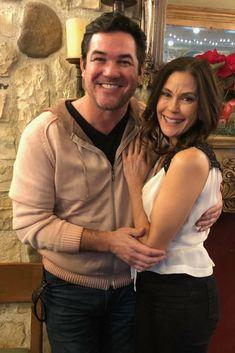 Recent photo of Dean Cain and Teri Hatcher December 2017