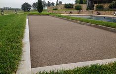 Bocce ball court  McCullough's Landscape & Nursery ( Stonework )