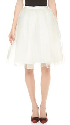Alice + Olivia Tulle Skirt