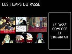 LES+TEMPS+DU+PASSÉ+:+le+passé+composé+et+l'imparfait