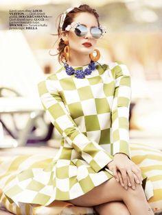 Vogue Turquia | Editorial Moda Junho 2013 | Atiye Deniz por Emre Dogru