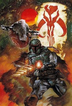Dave Dorman's Star Wars Legacy · Roqoo Depot · Boba Fett Star Wars Fan Art, Star Wars Saga, Star Wars Legacy, Star Trek, Geeks, Chasseur De Primes, Star Wars Bounty Hunter, Star Wars Pictures, Mundo Comic