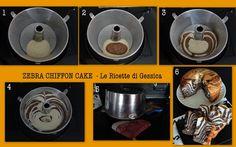 tutorial torta zebrata ciambella
