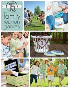 15 Fun Family Reunion Games