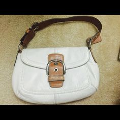 COACH BUNDLE!!! Bag and Wallet Selling an authentic Coach Leather Handbag and leather wallet. Can be bought separately too. Bag and wallet are gently used and can see leather aging but interior is in excellent condition. Coach Bags