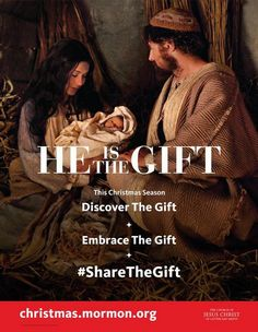 He is the Gift // The first gift of Christmas was a simple gift given by a father to all his children, to us. He gave us His son, the Christ.