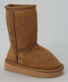 Look what I found on #zulily! Tan Betty Boot #zulilyfinds