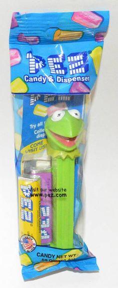 Disney Muppets Kermit Pez