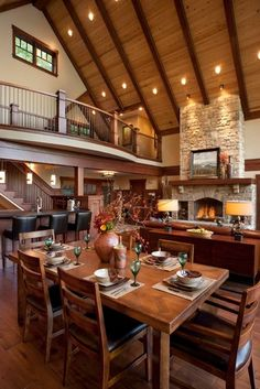 Dining Photos Open Floor Plan Design, Pictures, Remodel, Decor and Ideas - page 2