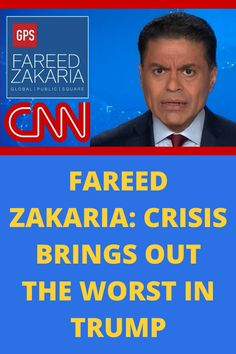CNN's Fareed Zakaria discusses how President Trump is handling coronavirus and America's well-being in comparison to other countries' response to the global pandemic.