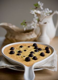 I was thinking about blueberry pancakes this morning and I thought to myself, that's one thing you never see at a wedding: breakfast–more sp...