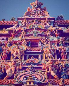 A Gopuram of Temple #Chennai #tamilnadu #incredibleindia #tripadvisor #tphotooftheday #travelforexperiences #travelblogger #attp #Travellers #wanderlust of #southindia #worldheritage #escortedtours #incredibleindiaoffical #culturaltrails #globetrotters 2 #indiatourism #culturaltourism #exploration #cholantours #dravidian #indiatravelgram & #spiritualism 4 #indiaholidays #travelphotography #travelphotographer #travelfreak #indiatravel #backpacker #malaysian tamil tours 1$=651=1021=76…