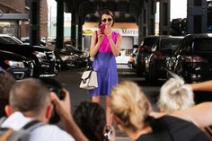 The NYFW Street-Style Looks That Truly Stunned #refinery29  http://www.refinery29.com/2014/09/73987/new-york-fashion-week-2014-street-style-photos#slide22  Ella Catliff turns the lenses on the lensmen.
