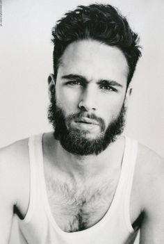 Beard with chest hair