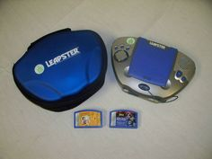 Leap Frog Leapster Multimedia Learning System w two games Batman & Personal Beeswax