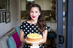 This is Rachel Khoo. Not only does she live in Paris, but she turned her tiny apartment into a food destination. Find out how.