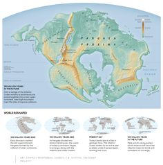 In about 250 million years a new supercontinent, Pangaea Proxima, will form.