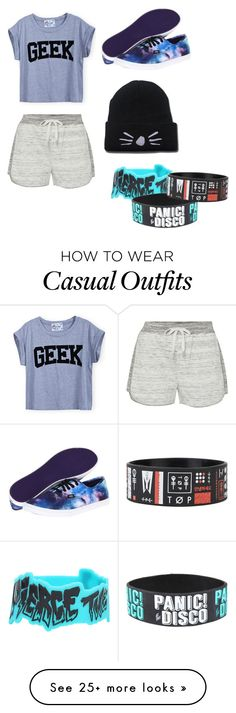 """""""Casual"""" by amayaisseptipliertrash on Polyvore featuring Calvin Klein and Vans"""